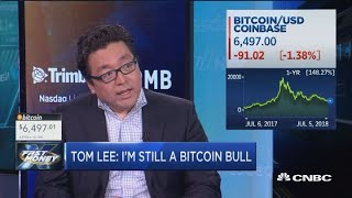 Tom Lee: I want to be clear, bitcoin is going to $25,000 by year end