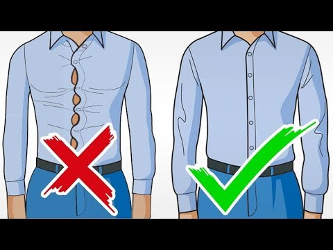 How To Buy The PERFECT Dress Shirt | Top 3 Tips To Buying Great Fitting Shirts