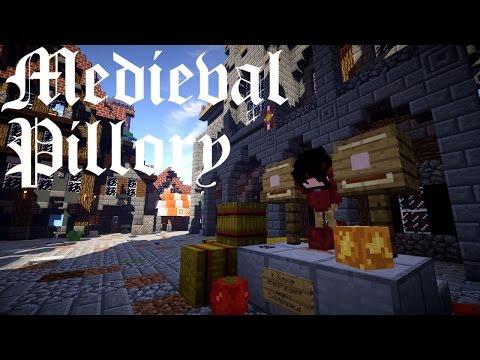 Minecraft Tutorial - Medieval Pillory/Mittelalterlicher Pranger [Deutsch]