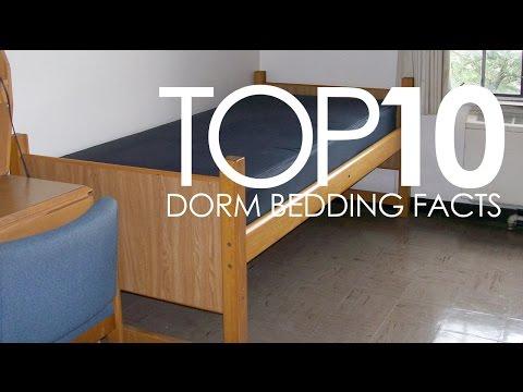 Top 10 Dorm Bedding Facts