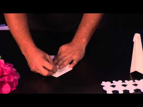 How to Make a Paper Swan