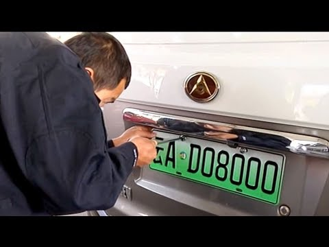 New license plates to be issued for clean cars