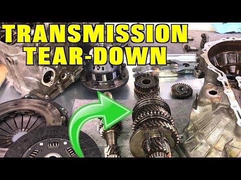 Manual Transmission Teardown and Inspection