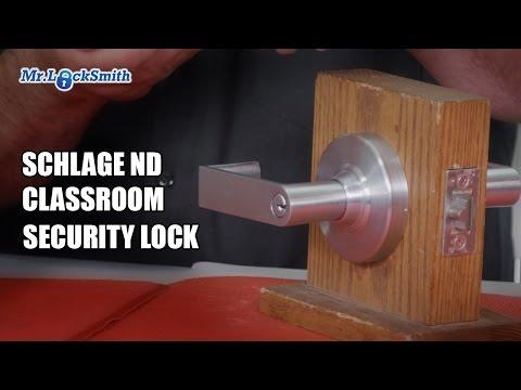 Schlage ND Classroom Security Lock | Mr. Locksmith Video