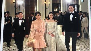 ทูลกระหม่อมหญิงอุบลรัตน์ เสด็จร่วมงานแต่งงาน คุณอุ๊งอิ๊ง ลูกสาว ดร.ทักษิณ ชินวัตร ที่เกาะฮ่องกง