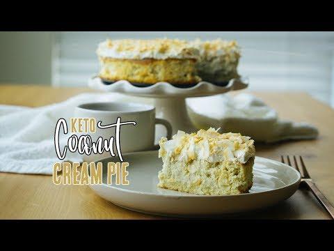Coconut Cream Pie | Low Carb Pie Recipe