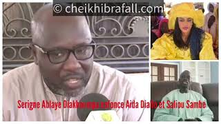 Enregistrement du khalife: Aida Diallo et Saliou Sambe indexés