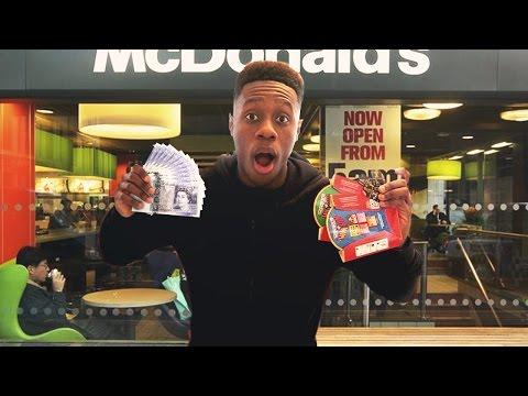 Winning £100,000 at the McDonalds Monopoly !!! 😱 (Rare Mayfair ticket hunt)