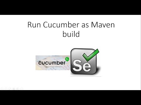 How to Run Cucumber Test as Maven Test