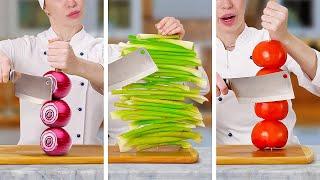 SMART HACKS WITH FRUITS \u0026 VEGGIES || How To Cut And Peel Fruits Like a Pro