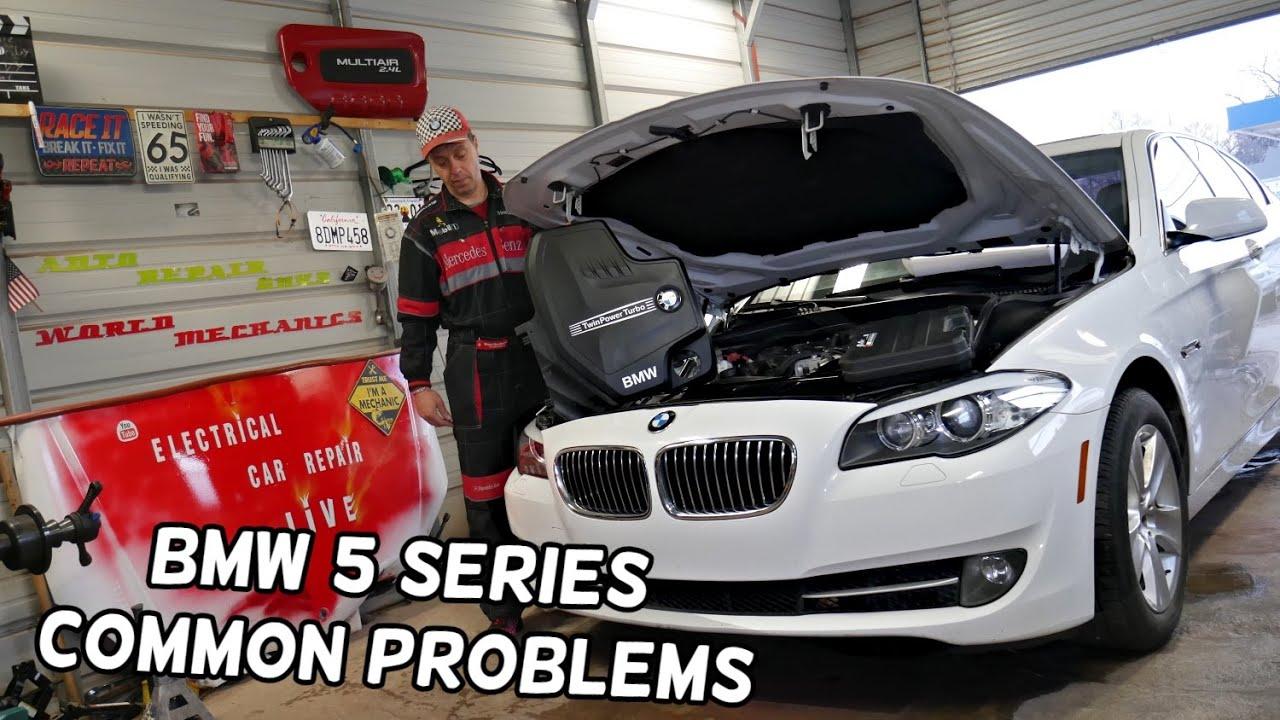 COMMON PROBLEMS BMW F10 F11 N20 N26 ENGINE 520i 528i 520xi 528xi