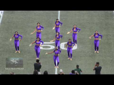 Miles College Marching Band - Halftime Show - 2016