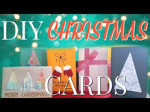 DIY Christmas Cards You Can Make In Under 10 Minutes!