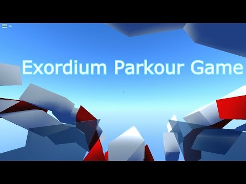 Roblox: Parkour game play - Exordium