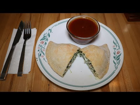 Sausage And Spinach Calzones