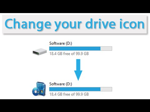 How to change your drive icon