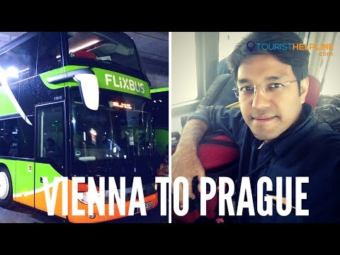 VIENNA TO PRAGUE BUS : When I was about to get CHEATED!