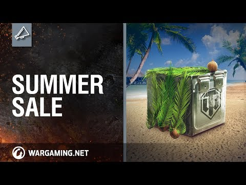 World of Tanks - Summer Sale: Enjoy the Hottest Offers
