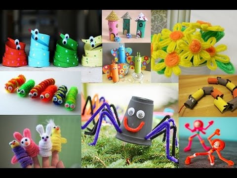 DIY Pipe Cleaner Creative Ideas & Adorable Toilet Paper Roll Crafts