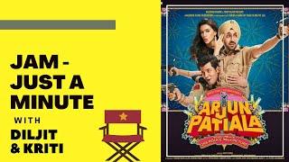 JUST A MINUTE with Diljit Dosanjh & Kriti Sanon  | Arjun Patiala | RJ Sangy | Filmy Mirchi