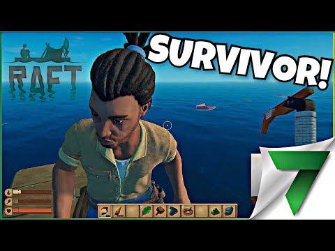 WE FOUND A SURVIVOR! Ep. 3   Raft Gameplay