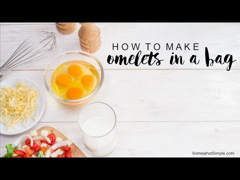 How to Make an Omelet in a Bag Recipe - Fast And Easy Tutorial