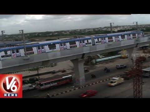 Metro Trail Run To Be Start Soon In L.B Nagar-Ameerpet Metro Corridor | V6 News