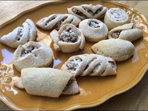 A TURKISH CLASSIC 'ELMALI KURABIYE' - Apple Cookies With Cinnamon and Walnuts - 11 ways