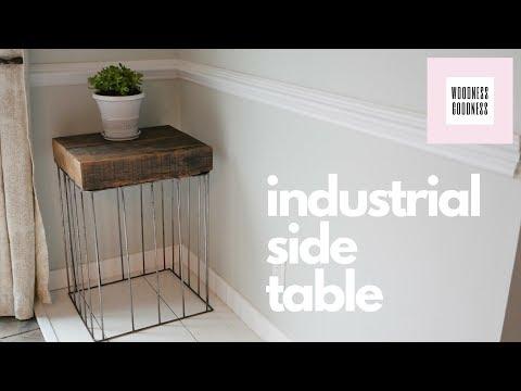 Slab & Steel Cage Table