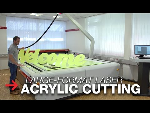Large Format Acrylic Cutting | Wide Format Cutter | SP3000