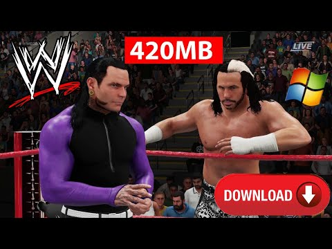 WWE 2007 PC Game Highly Compressed Download Now 2018
