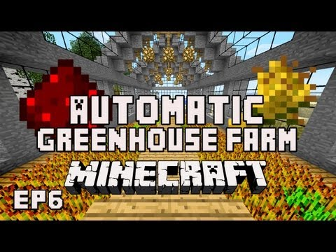 Minecraft Tutorial:  How To Build An Automatic Redstone Wheat Farm   (House Project Part 29)