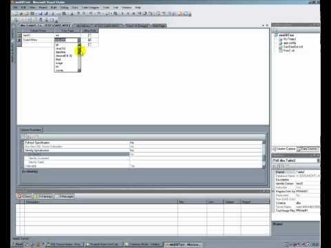 Create a SQLServer database in VB2008