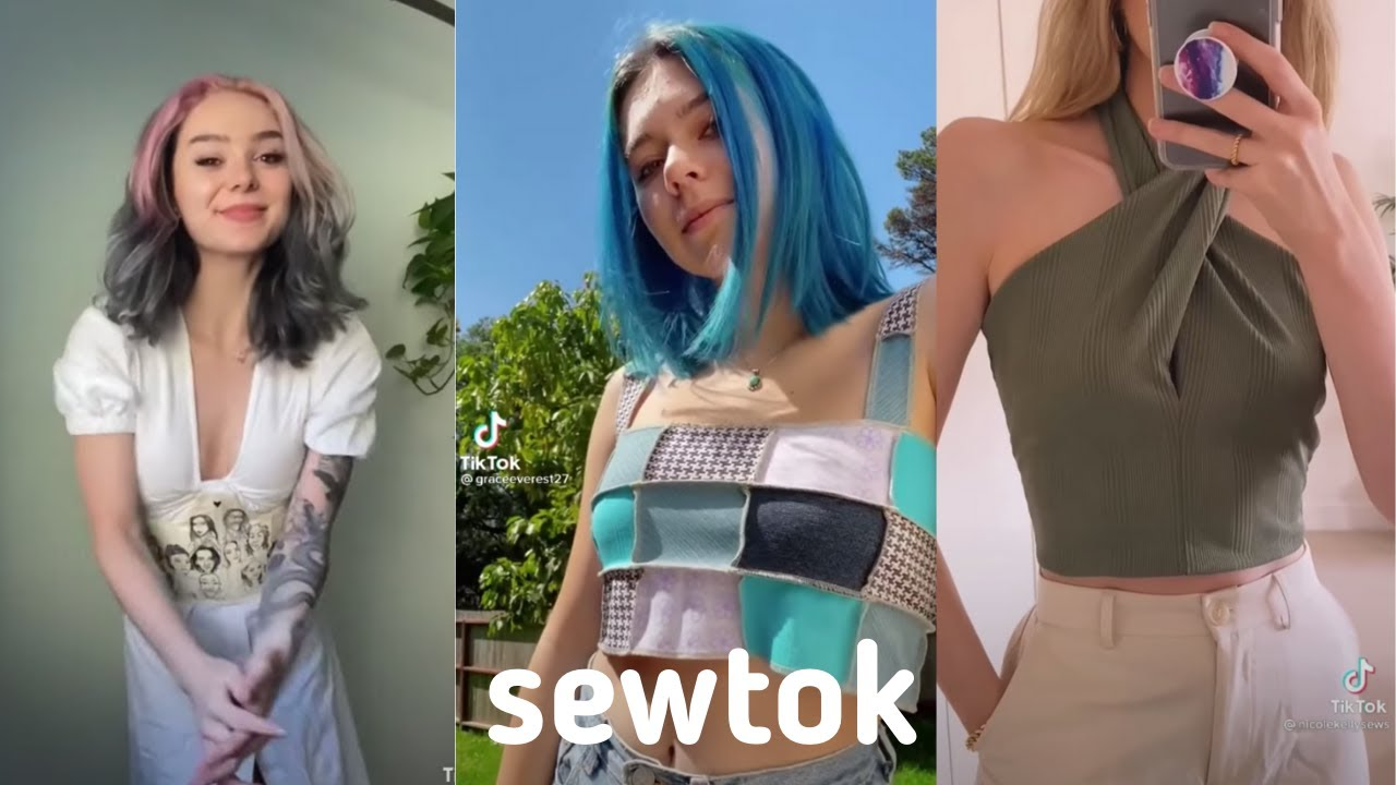 sewing tips, tutorials, and montages! (from sewtok/stitchtok)
