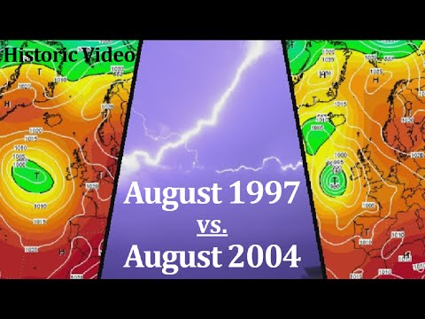 Historic Weather - August 1997 vs. August 2004