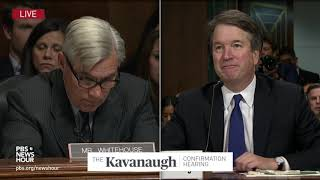 Whitehouse asks Kavanaugh about yearbook slang