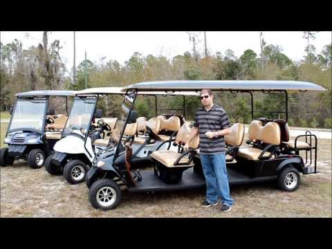 citEcar 8pr Street Legal Golf Cart for Sale - 8 Passengers from citEcar Electric Vehicles