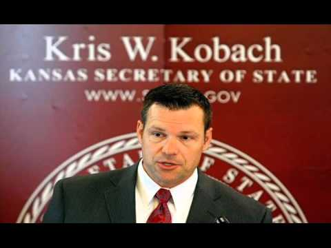 Kobach: Obama Fake Birth Certificate - 4/20/2016