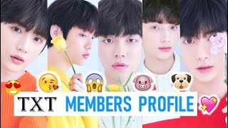 Download TXT Members Profile (Birth Name, Position, Facts...) Video