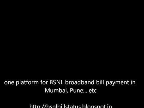 maharashtra bsnl and MTNL bill payment online