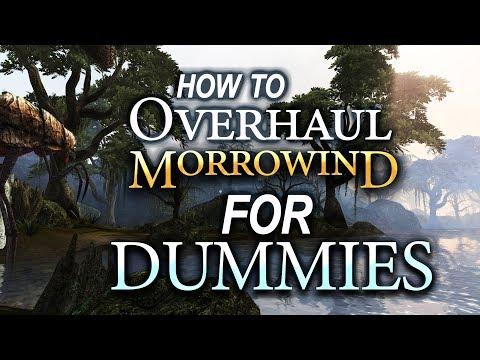 Overhauling Morrowind for Dummies ♥ | MGSO + Rebirth (2018)