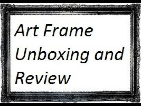 [Hindi-हिन्दी] Cheapest and Best Art Photo Frame Unboxing and Review