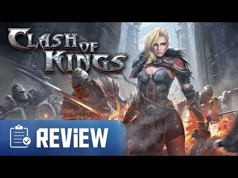 Clash Of Kings Review (iPhone/Android MMO Game)