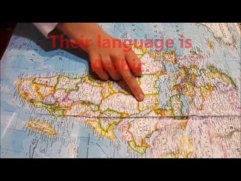 Fluency English Lesson 22 - Continents, countries, languages, nationalities, cardinal directions