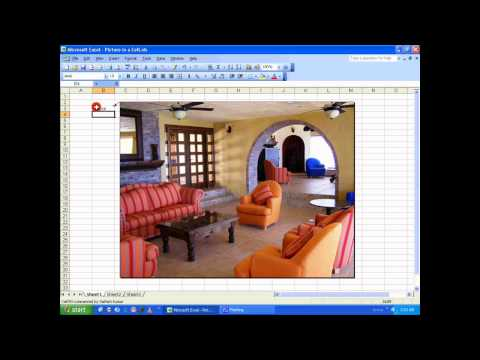 MS Excel Tutorial - Insert picture in a cell [HD]