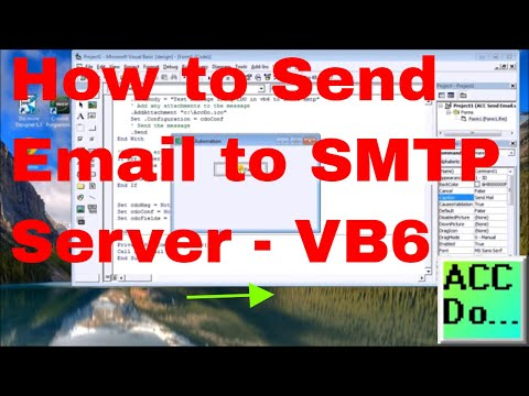 How to Send Email to SMTP Server