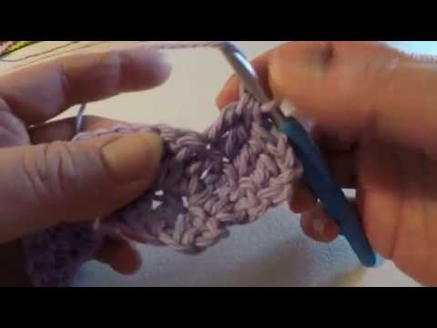 Crochet Increase and Decrease Double Stitch, Beginner Crochet