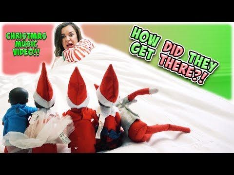 SNEAKY LITTLE ELVES! SMELLYBELLY TV CHRISTMAS MUSIC VIDEO!