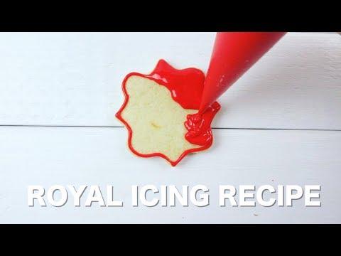 Basic Royal Icing Recipe