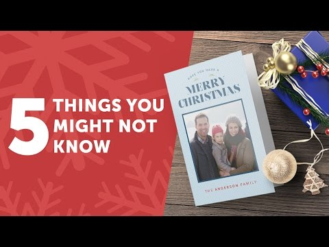 5 Things You Might Not Know About Christmas Cards
